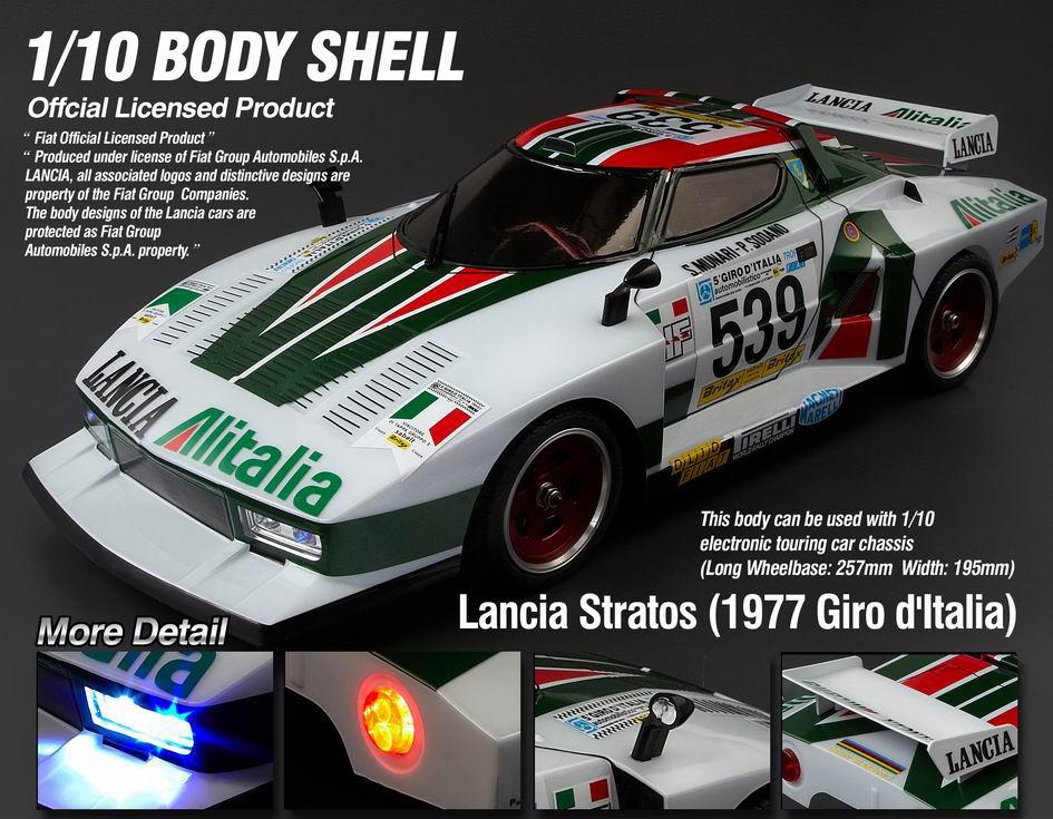 Killerbody Lancia Stratos Rc Cars Rc Parts And Rc