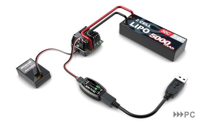 SK300064 - Toro TS160 ESC programming