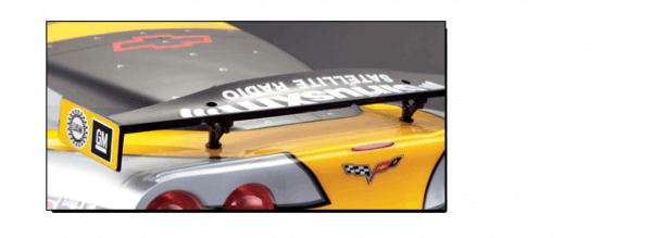 Chevrolet Corvette GT2 - Rear Wing