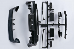itsubishi Lancer Evo X - Plastic mounting parts 1