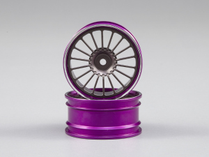 Alfa Romeo TZ3 corsa CNC Alloy Rims (grey / purple)