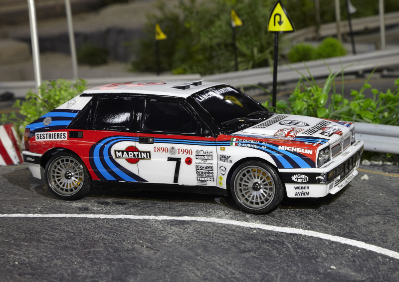 Lancia Delta HF Integrale 16V 1/10 Scale Touring car from Killerbody