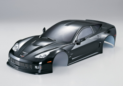 Corvette GT2 (1/10), black body, RTU all-in
