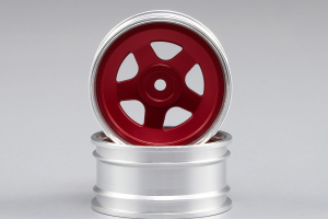 Lancia Beta Montecarlo - Aluminium Alloy Wheel red (CNC Aluminum)