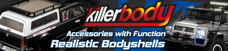 Killerbody Bodies and Accessories