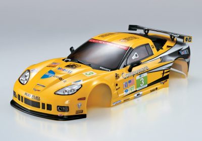 Corvette GT2 (1/10), Rally Racing body, RTU all-in
