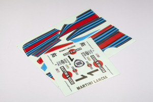Lancia Beta Montecarlo - Body Decal Sheet