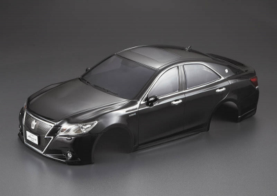 Toyota Crown Athlete (1/10), black body, RTU all-in