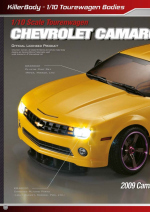 Chevrolet Camaro Catalog Pages