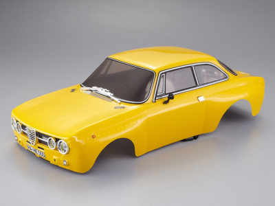 Alfa Romeo 2000 GTAm (1/10), yellow body, RTU all-in
