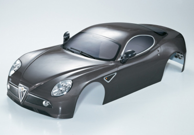 Alfa Romeo 8C (1/7), silver-grey body, RTU all-in