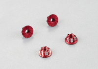 "Aluminum wheel nuts  ""Red"""