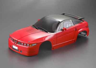 Alfa Romeo SZ (1/10), red body, RTU all-in