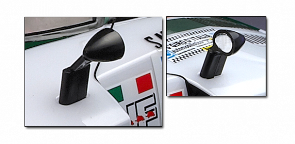 Lancia Stratos 1977 - Rear View Mirror