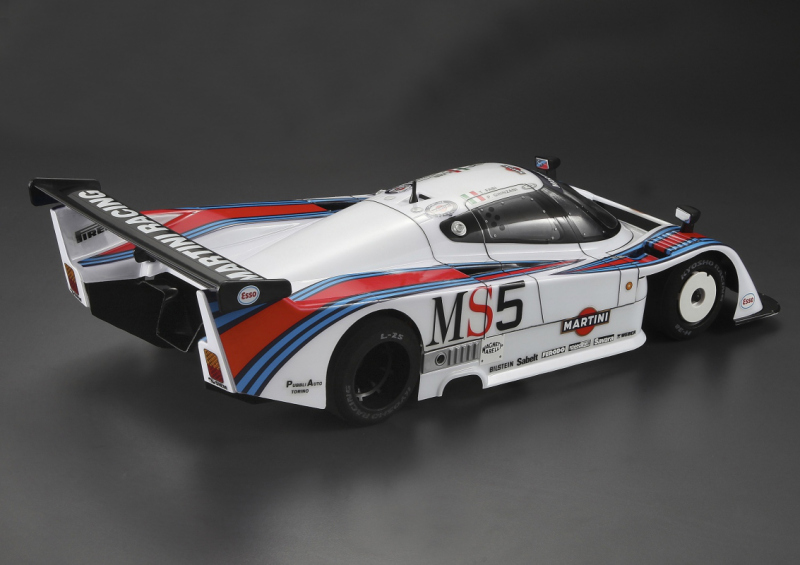 LeMan Racing Body Lancia LC2 1/12