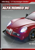 Alfa Romeo 8C Catalog Pages