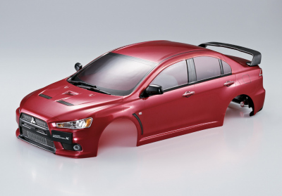 Mitsubishi Lancer Evo X Iron-oxide-red Karosserie, RTU all-in