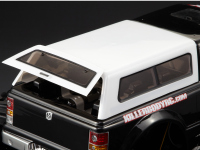 Hardtop roof for truck bed with tailgate