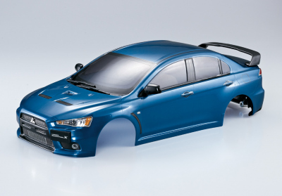 Mitsubishi Lancer Evo X Metallic Blau Karosserie, RTU all-in