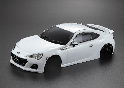 Subaru BRZ (1/10), weiße Karosserie, RTU all-in