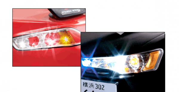 Misubishi Lancer Evo - Light Set