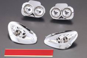 Corvette GT2 Chrome headlight reflectors