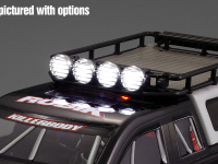 Light set for mounting on roof rack