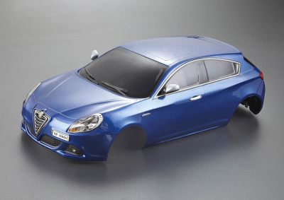 Alfa Romeo Giulietta (1/10), blue body, RTU all-in