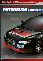 Mitsubishi Lancer Evolution X Catalog Pages