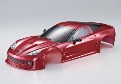 Corvette GT2, iron-oxide-red body, RTU all-in