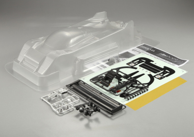 Lancia LC2 (1/12), clear Body, Kit all-in