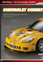Chevrolet Corvette GT2 Catalog Pages