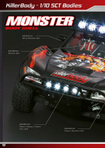 Monster Short Course Truck Catalog Pages