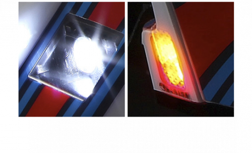 Lancia LC2 - Scale LED Unit Set System