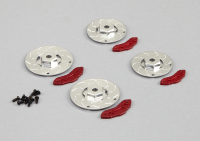 "Brake discs with Caliper ""Silver"""