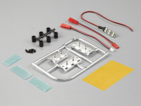 Number plate set incl. LED lighting