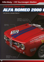 Alfa Romeo 2000 GTAm catalog pages