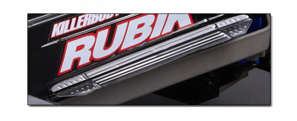 Rubik Monster Truck - Chrome door sill plates