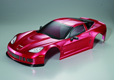 Corvette GT2 (1/7), metallic red body, RTU all-in