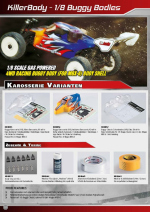 Nitro Race Buggy Catalog Pages