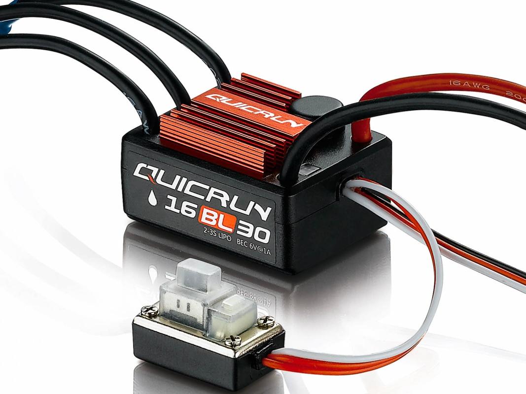 Hobbywing QuicRun ESC Brushed & Brushless - RC Cars, RC ...