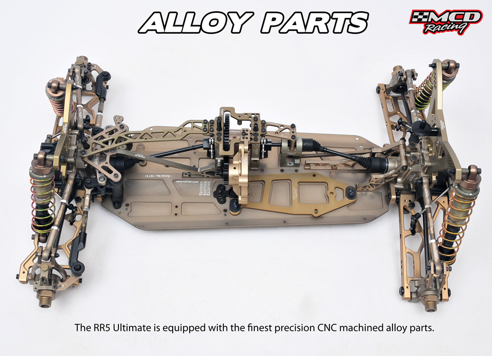 MCD RR5 Ultimate - RC Cars, RC parts and RC accessories