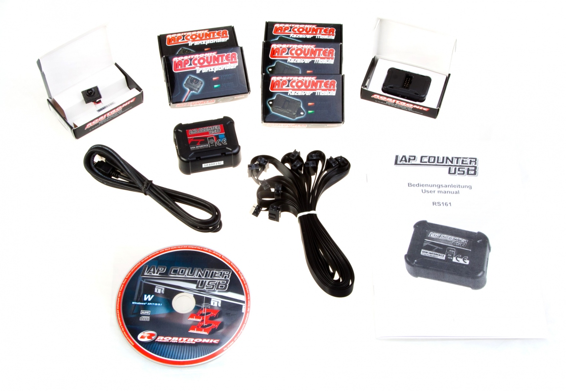 Robitronic Lap Counter Usb Rc Cars Rc Parts And Rc