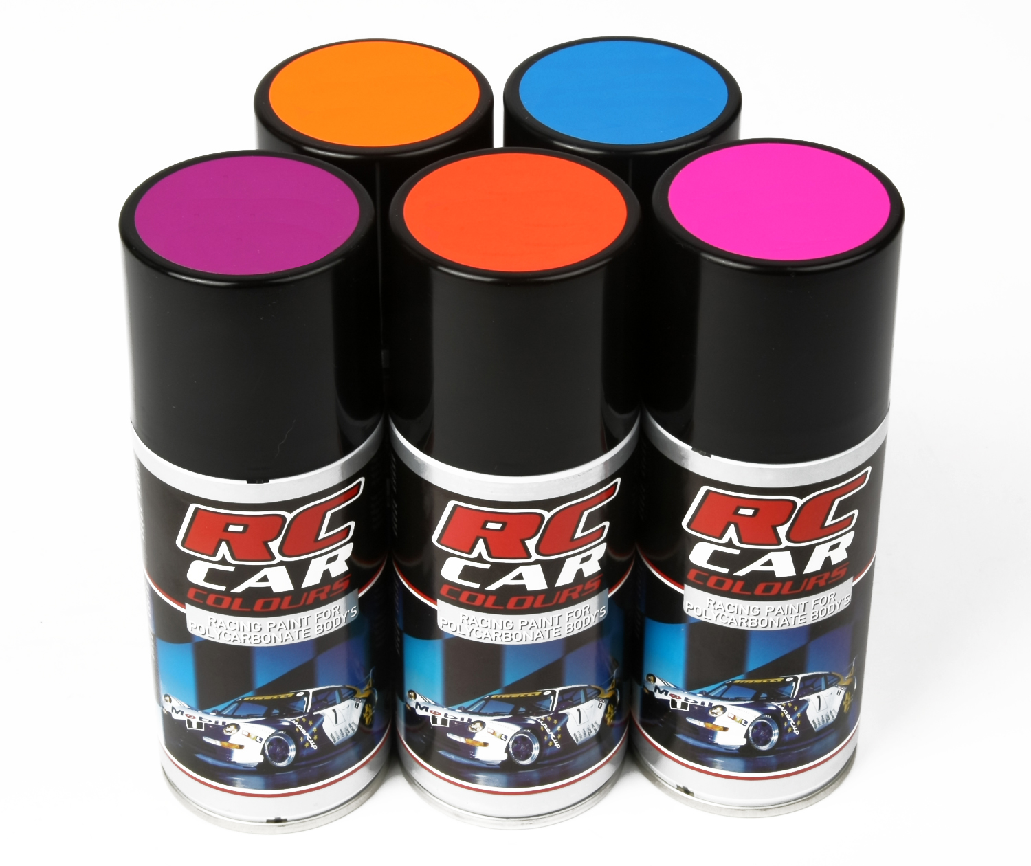 Dark Red Car Paint Colors >> Fluo Sprays for Lexan - RC Cars, RC parts and RC accessories