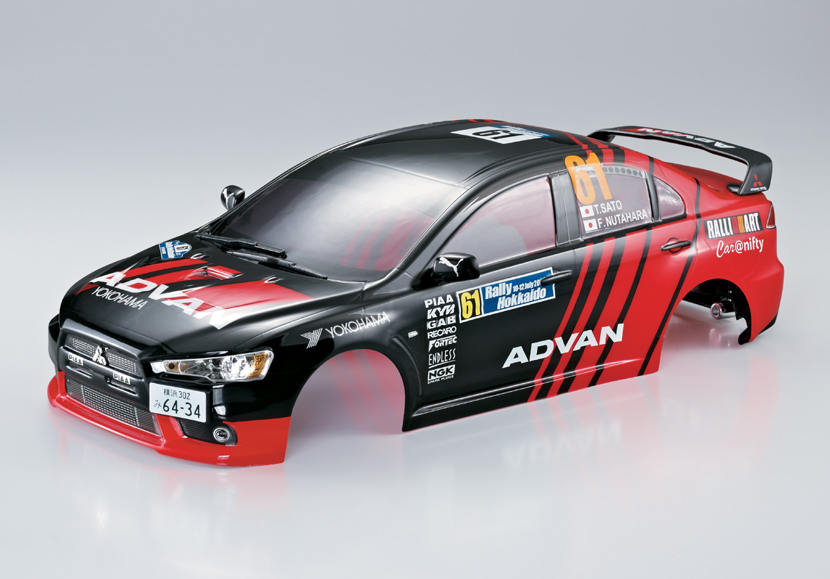Killerbody Mitsubishi Lancer Evolution - RC Cars, RC parts and RC accessories