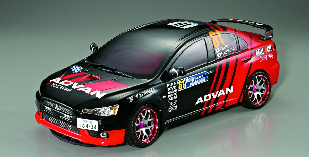 Killerbody Mitsubishi Lancer Evolution - RC Cars, RC parts and RC ...