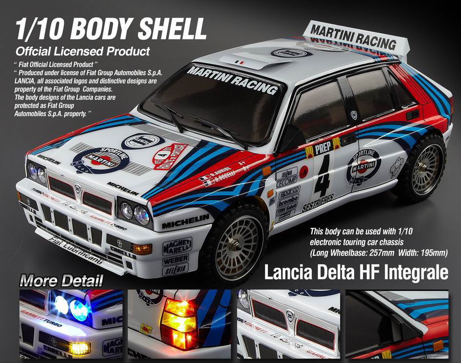Killerbody Lancia Delta Hf Integrale Rc Cars Rc Parts