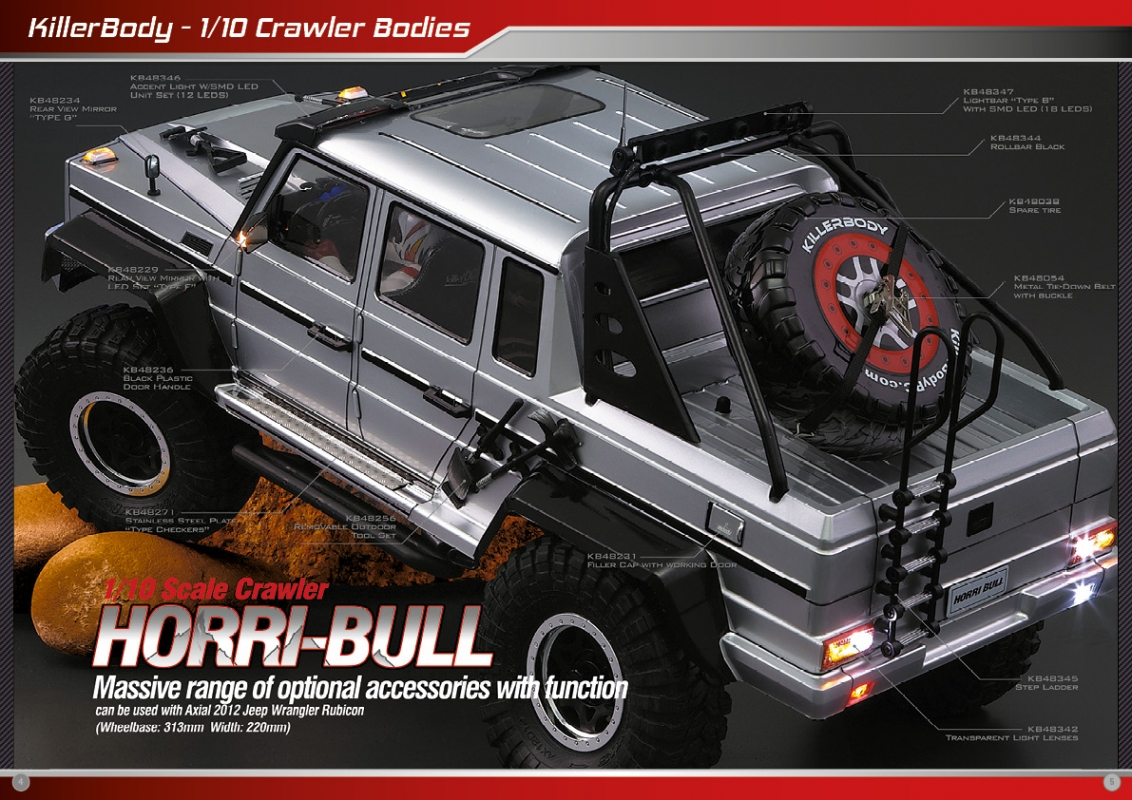 Killerbody Horri Bull - RC Cars, RC parts and RC accessories