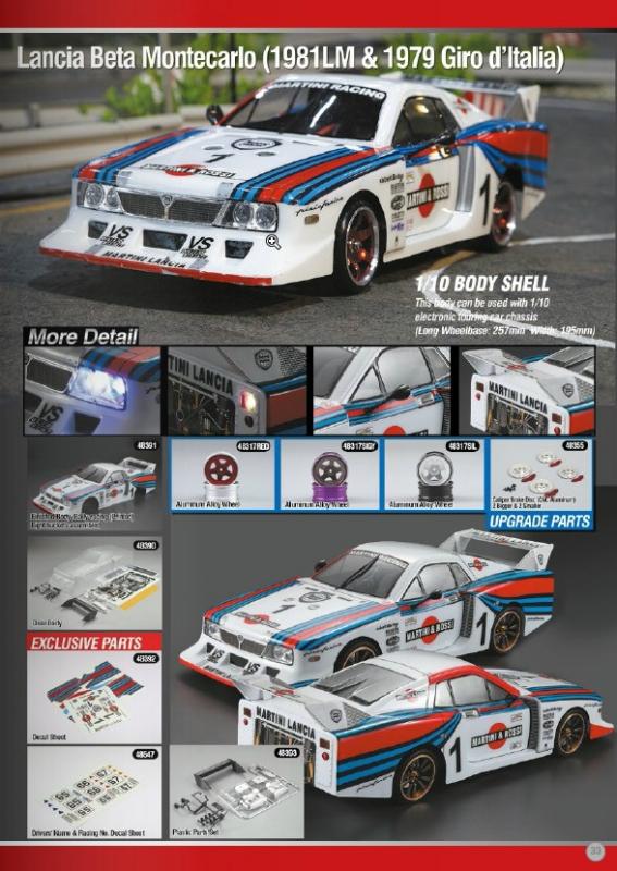 Killerbody Lancia Beta Montecarlo - RC Cars, RC parts and RC