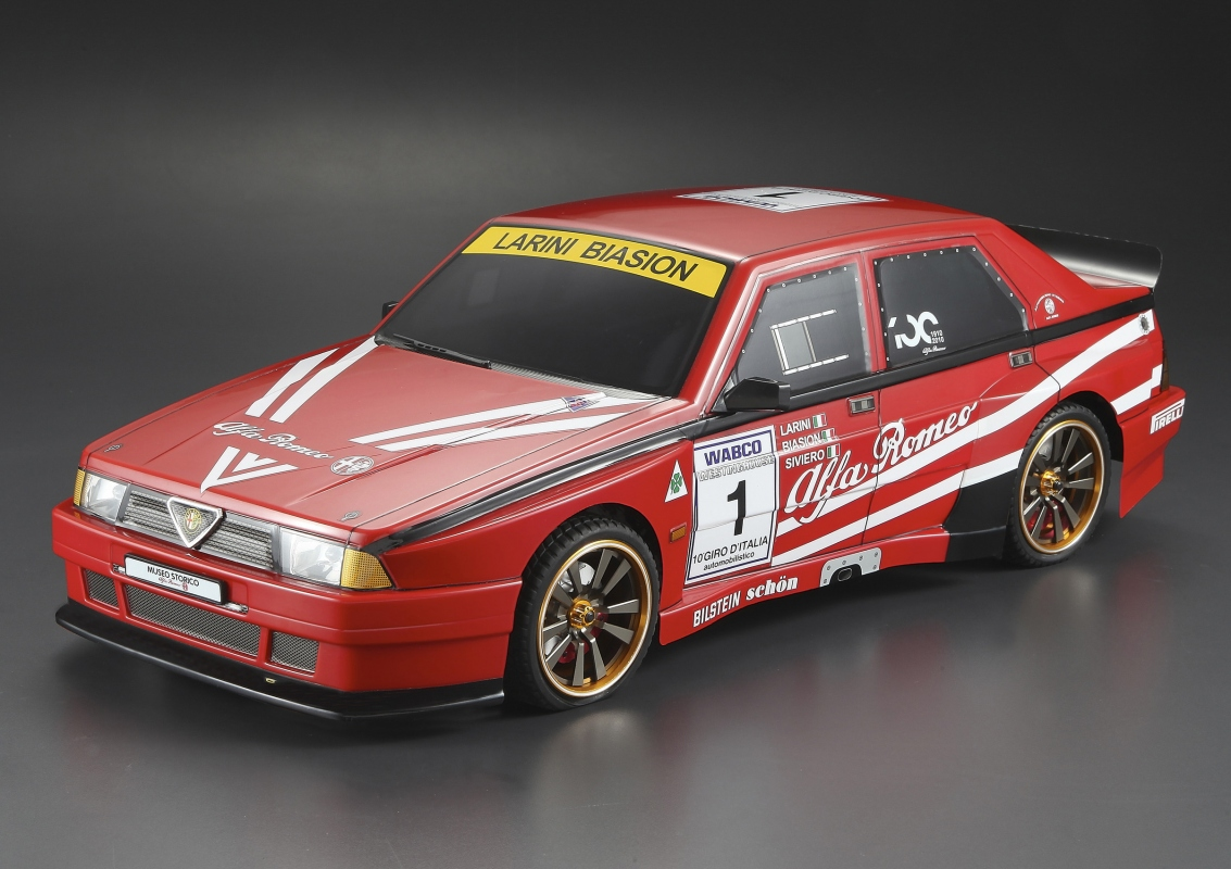 Killerbody Alfa Romeo 75 Turbo Evoluzione Rc Cars Rc Parts And Rc Accessories